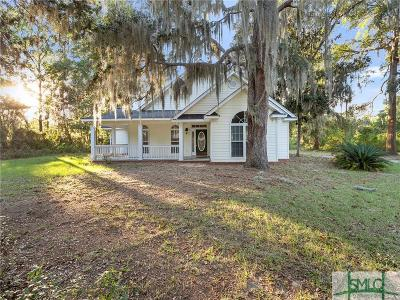 Darien GA Single Family Home For Sale: $279,000