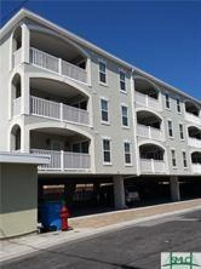 Tybee Island Condo/Townhouse For Sale: 26 Atlantic Avenue #101