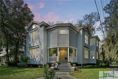 Savannah Single Family Home For Sale: 1130 E Henry Street