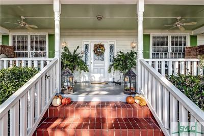 Savannah Single Family Home For Sale: 39 W Bluff Drive
