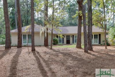 Savannah Single Family Home For Sale: 132 Mercer Road