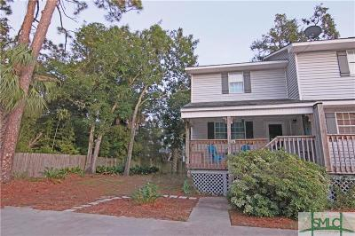 Tybee Island Condo/Townhouse For Sale: 817 First Street #F-4