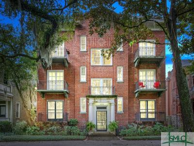 Savannah Condo/Townhouse For Sale: 805 Whitaker Street