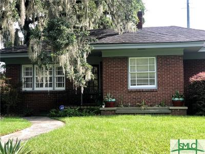 Savannah Single Family Home For Sale: 2 E 61st Street
