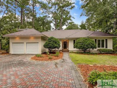Savannah Single Family Home For Sale: 22 Black Hawk Trail
