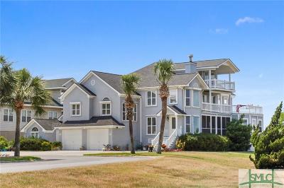 Tybee Island Single Family Home For Sale: 66&68 Captains View Crossing