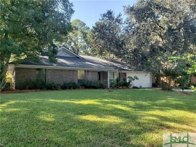 Savannah Single Family Home For Sale: 105 Marsh Side Drive