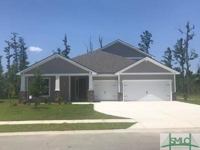 Pooler Single Family Home For Sale: 281 McQueen Drive