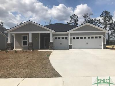 Pooler Single Family Home For Sale: 275 McQueen Drive