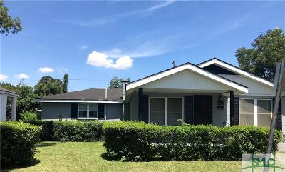 Savannah GA Single Family Home For Sale: $52,500