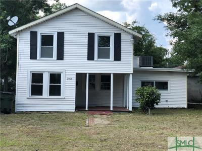 Savannah GA Single Family Home For Sale: $114,500