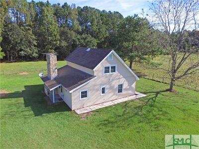 Ellabell Single Family Home For Sale: 614 Pleasant Hill Church Road