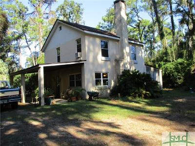 Savannah Single Family Home For Sale: 1528 Walthour Road