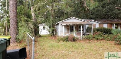 Savannah GA Single Family Home Active Contingent: $27,000