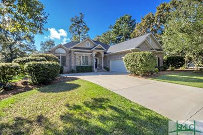 Savannah Single Family Home For Sale: 4 Pinebrook Court