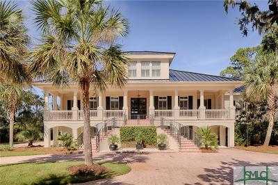 Savannah Single Family Home For Sale: 3 Crooked Creek Lane