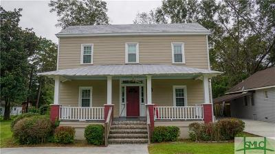 Pooler Single Family Home For Sale: 121 N Rogers Street