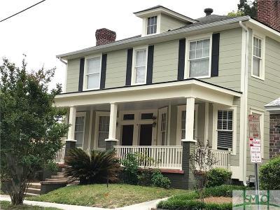 Savannah Condo/Townhouse For Sale: 313 E 38th Street