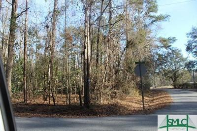 Pooler Residential Lots & Land For Sale: Lyons Road