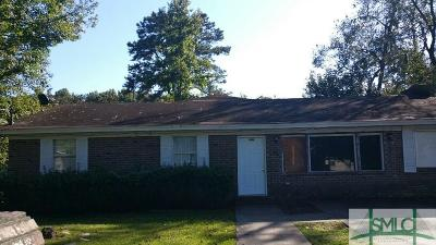Savannah Single Family Home For Sale: 2025 Tuskegee Street