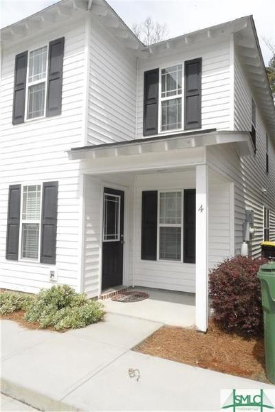 Savannah Condo/Townhouse For Sale: 11330 White Bluff Road #4
