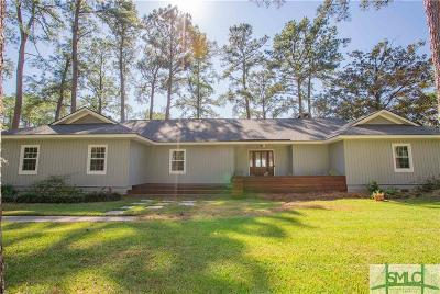 Savannah Single Family Home For Sale: 503 Herb River Drive
