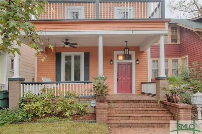 Savannah Single Family Home For Sale: 609 E 40th Street