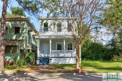 Savannah Single Family Home For Sale: 750 E Bolton Street