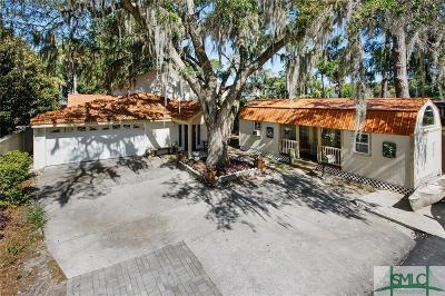Single Family Home For Sale: 1214 Wilmington Island Road