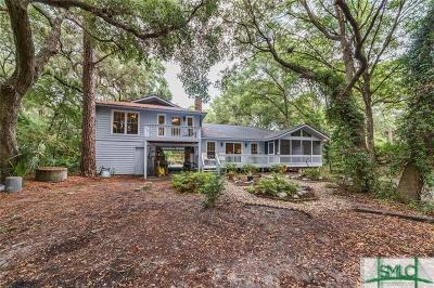 Tybee Island Single Family Home For Sale: 117 Catalina Drive