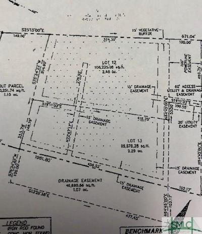 Springfield GA Residential Lots & Land For Sale: $16,000