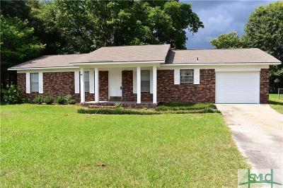Statesboro Single Family Home For Sale: 907 Brannen Road