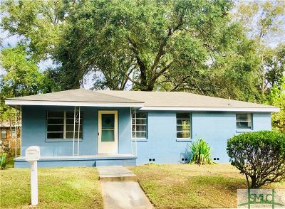 Savannah Single Family Home For Sale: 2110 Packard Avenue