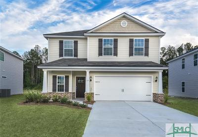 Guyton Single Family Home For Sale: 153 Red Maple Lane