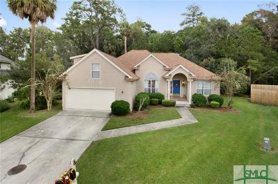 Savannah Single Family Home For Sale: 8 Autumn Leaves Court