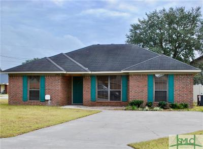 Hinesville Single Family Home For Sale: 1309 Crossgate Court