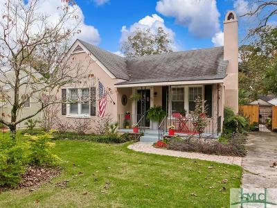 Savannah Single Family Home For Sale: 705 Columbus Drive