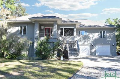 Tybee Island GA Single Family Home For Sale: $615,000