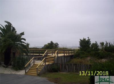 Tybee Island GA Single Family Home For Sale: $240,000