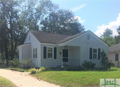 Savannah Single Family Home For Sale: 2315 E 39th Street