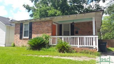 Savannah Single Family Home For Sale: 1506 E 33rd Street