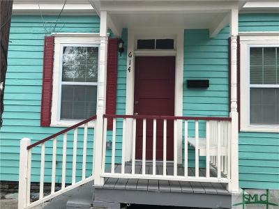 Savannah Single Family Home For Sale: 614 Kline Street