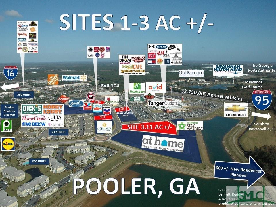140 Tanger Outlet, Pooler, GA, 31322, Pooler Home For Sale