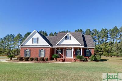 Guyton Single Family Home For Sale: 107 Heritage Drive