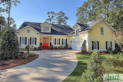 Savannah Single Family Home For Sale: 2 Cannon Lane