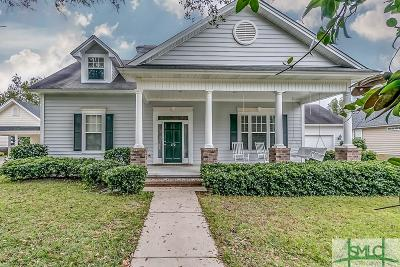 Savannah GA Single Family Home For Sale: $259,900