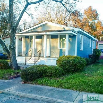Savannah GA Single Family Home For Sale: $79,900