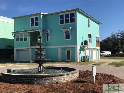 Tybee Island Condo/Townhouse For Sale: 12 Village Place #A