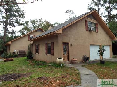 Savannah Single Family Home For Sale: 3 Fort Bartow Road