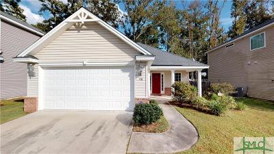 Savannah GA Single Family Home For Sale: $199,900